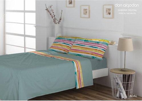 BED SHEET SET DON ALGODON | ADAL