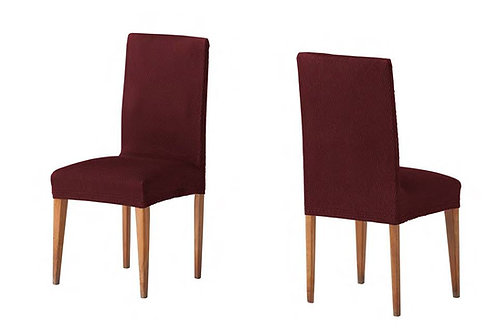 ELASTIC COVER - CHAIR | TWO PIECES | BORDO