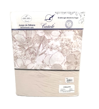 BED SHEET SET CANETE | PUSAN 30 BEIGE