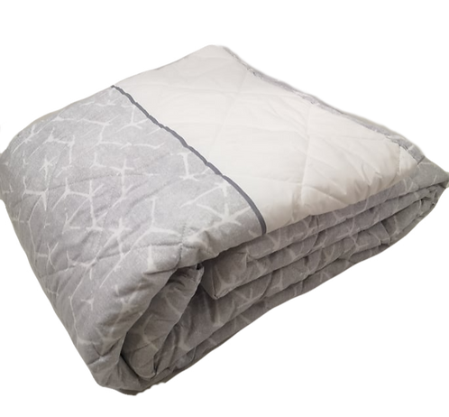 BEDSPREAD CANETE   TOPIC LIGHT GREY