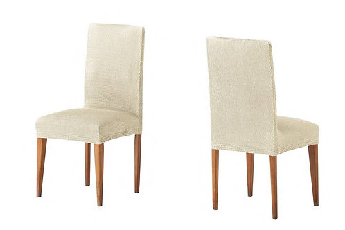 ELASTIC COVER - CHAIR | TWO PIECES | IVORY