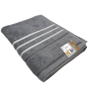 TOWEL STRIPES GREY