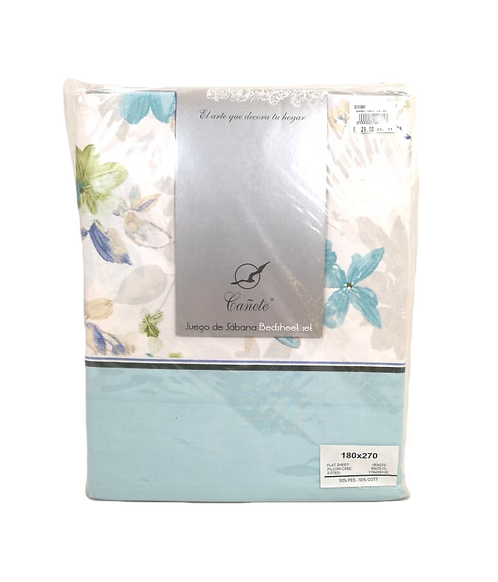 BED SHEET SET CANETE | FORLI 20 AZUL