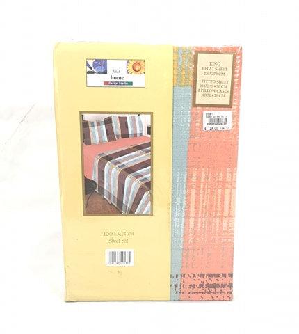 BED SHEET SET HC | DESIGN PEACH
