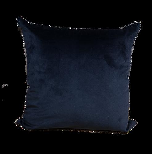 CUSHION VELVET BLACK | 45x45cm