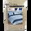 Thumbnail: BED SHEET SET ROYAL | LIGHT BLUE