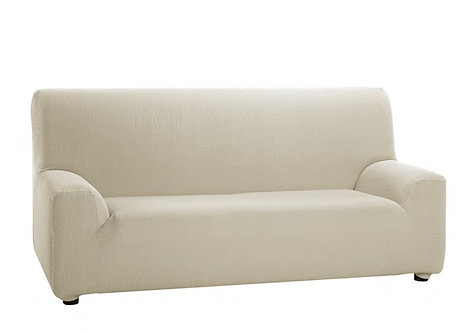 ELASTIC SOFA COVER 2-SEATS | IVORY