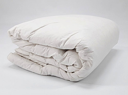 QUILT MT WHITE 240x260cm DUCK DOWN & FEATHER FILLING