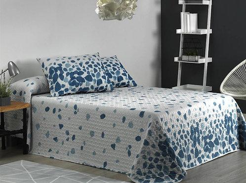 BEDSPREAD MORA MILENA BLUE | 270x270cm