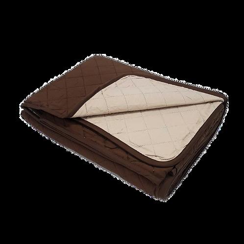 BEDSPREAD MICRO BROWN/BEIGE  | 200x245cm