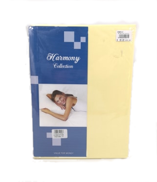 BED SHEET SET COMFORT | YELLOW