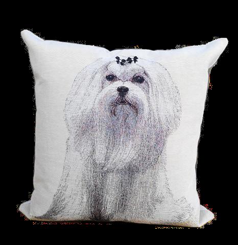 CUSHION DOG COL.4 | 45x45cm