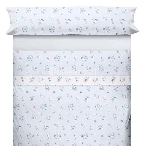 BED SHEET SET CANETE | DELAS 20 BLUE