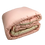 Thumbnail: QUILT DOUBLEFACE   BABY PINK/BEIGE