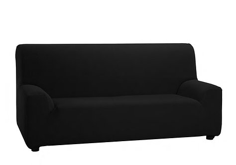 ELASTIC SOFA COVER 1-SEAT | BLACK