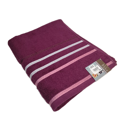 TOWEL STRIPES | PURPLE
