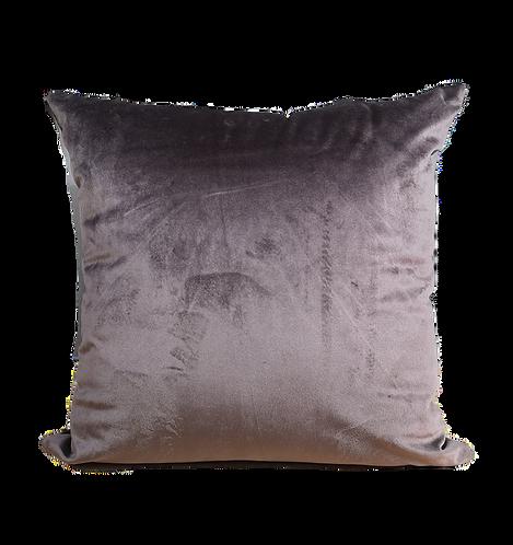 CUSHION VELVET BROWN | 45x45cm