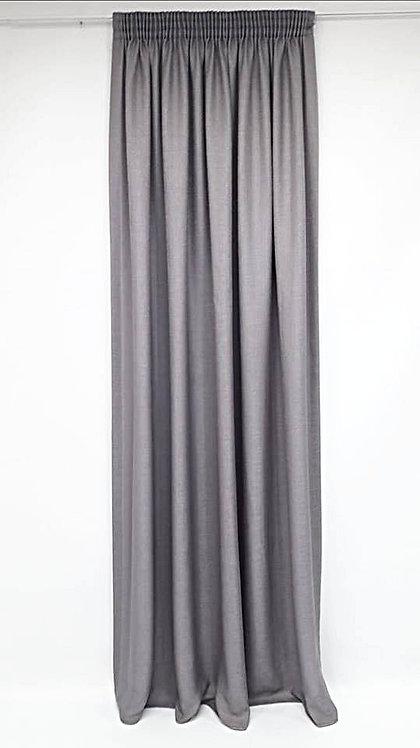ΚΟΥΡΤΙΝΑ AOSTA GREY ΡΑΜΜΕΝΗ | WIDTH 250cm