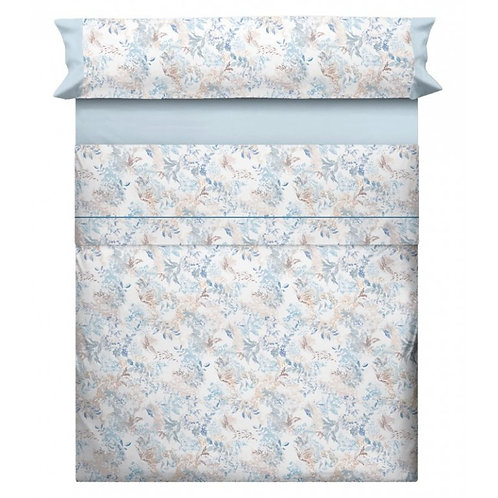 BED SHEET SET CANETE | LANA 20 BLUE