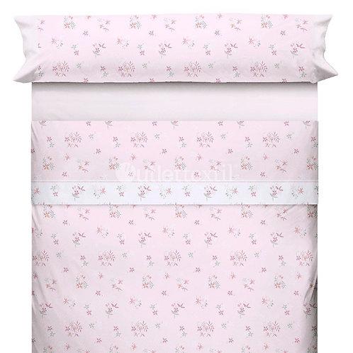 BED SHEET SET CANETE | DELAS 10 PINK