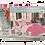 Thumbnail: BED SHEET SET ELEONOR | FUCSHIA