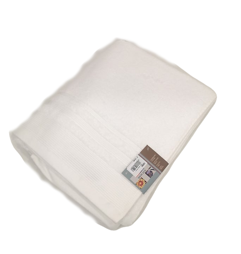 TOWEL BAMBOO WHITE | 90X150CM