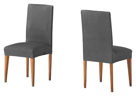 ELASTIC COVER - CHAIR | TWO PIECES | GREY