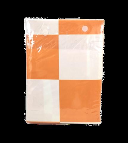 BED SHEET SET ELEONOR | ORANGE