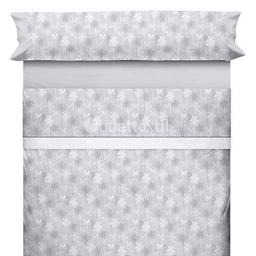 BED SHEET SET CANETE | SAMIRA 91 GRIS