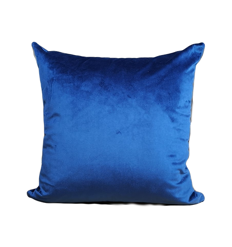 CUSHION VELVET BLUE | 45x45cm