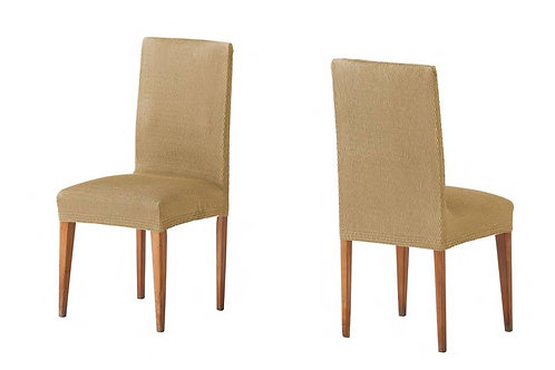 ELASTIC COVER - CHAIR | TWO PIECES | BEIGE