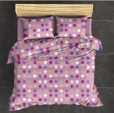 BED SHEET SET FERPIL | BUBBLES PINK