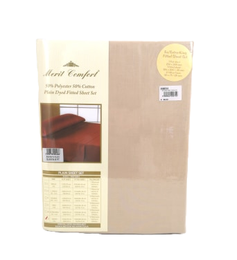 BED SHEET SET COMFORT | BEIGE