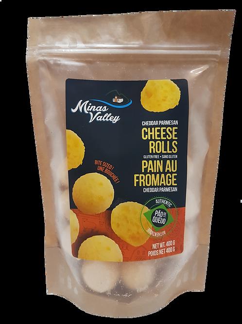 Brazilian Cheese Rolls Cheddar Parmesan 400g
