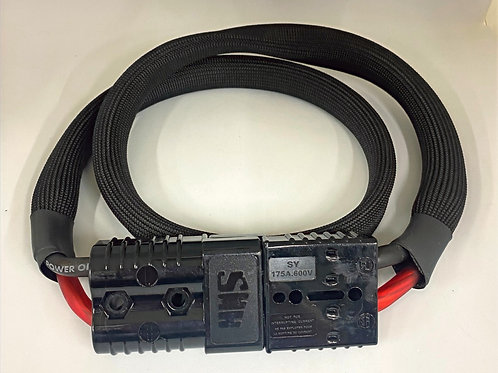 4 Foot Light Weight Starter Cables