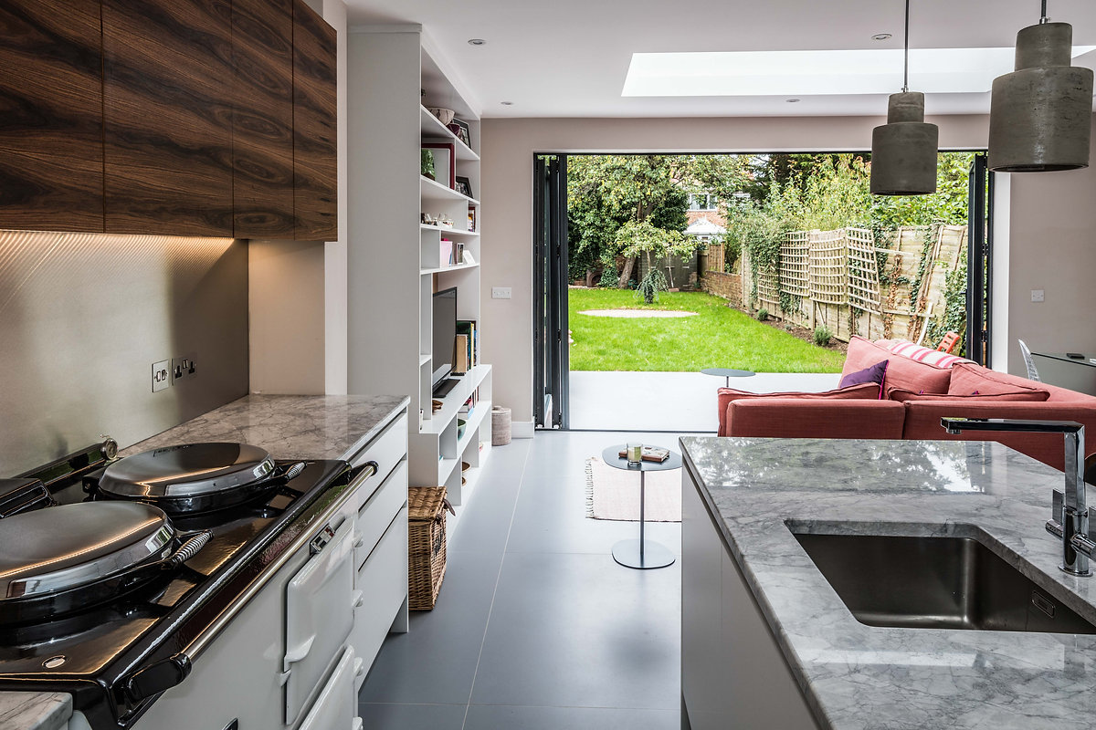 oxford modern contemporary extension kitchen refurbishment architecture