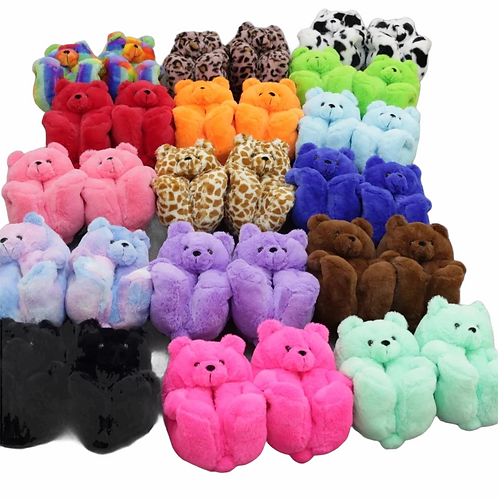 Teddy 🧸 Bear Slippers