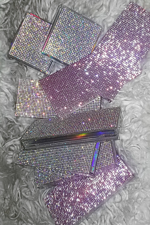 RHINESTONE EYELASH CASES