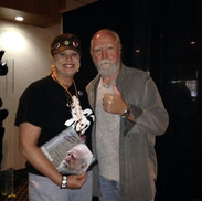 Gave Scott Wilson a book and had a nice