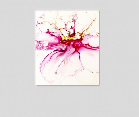 "24"" H x 36"" W  Acrylic on canvas."