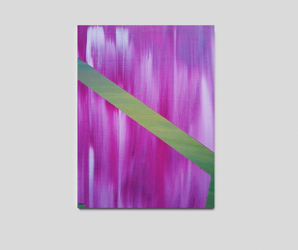 "24"" H x 18"" W  Acrylic on canvas."