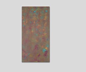 "12"" H x 24"" W  Acrylic on canvas."