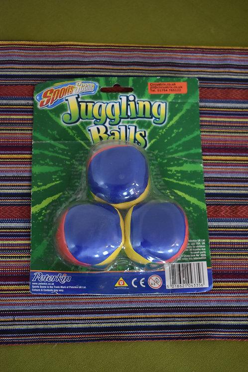 Juggling balls 3 set.