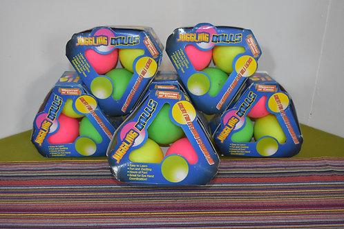 Mini stage balls.