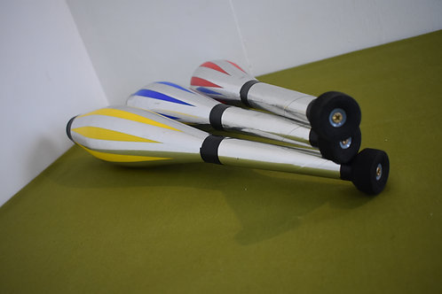 "Juggling clubs set of 3 ""Circus specials"""