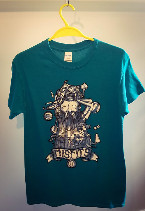 Misfit T-Shirt Antique Jade