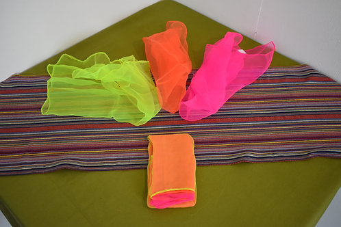 Small UV Juggling scarf 3 set