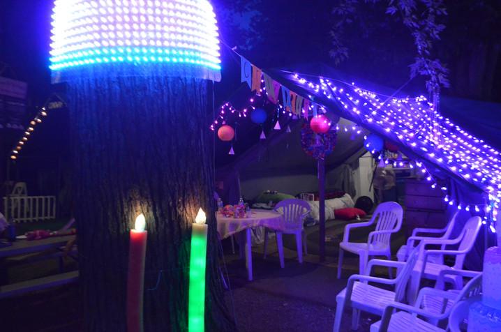 Grange Fair Tenting