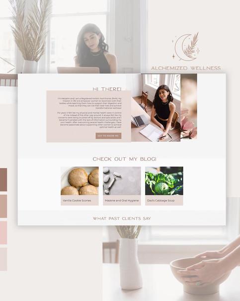 Alchemized Wellness Website