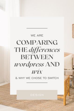 Comparing the Differences Between Wordpress and Wix